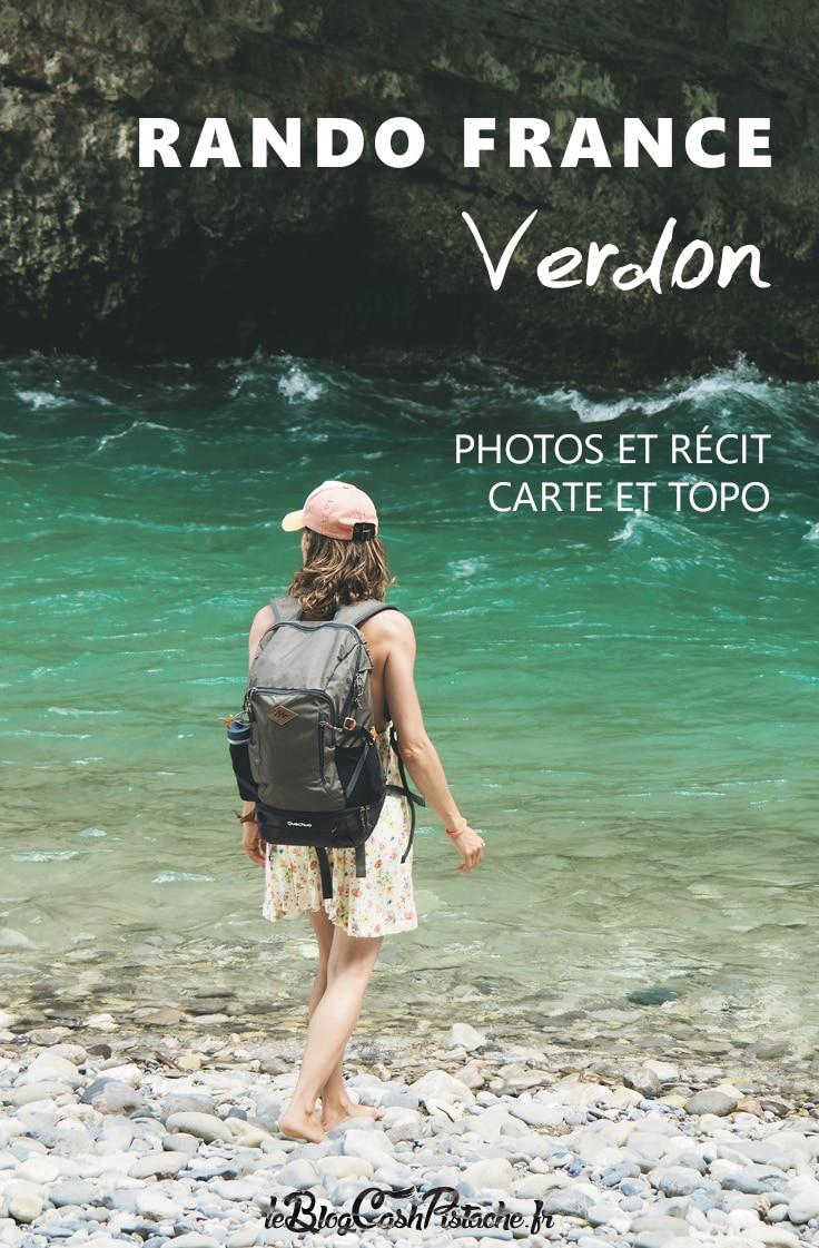 Topo sentier Martel randonnée Verdon