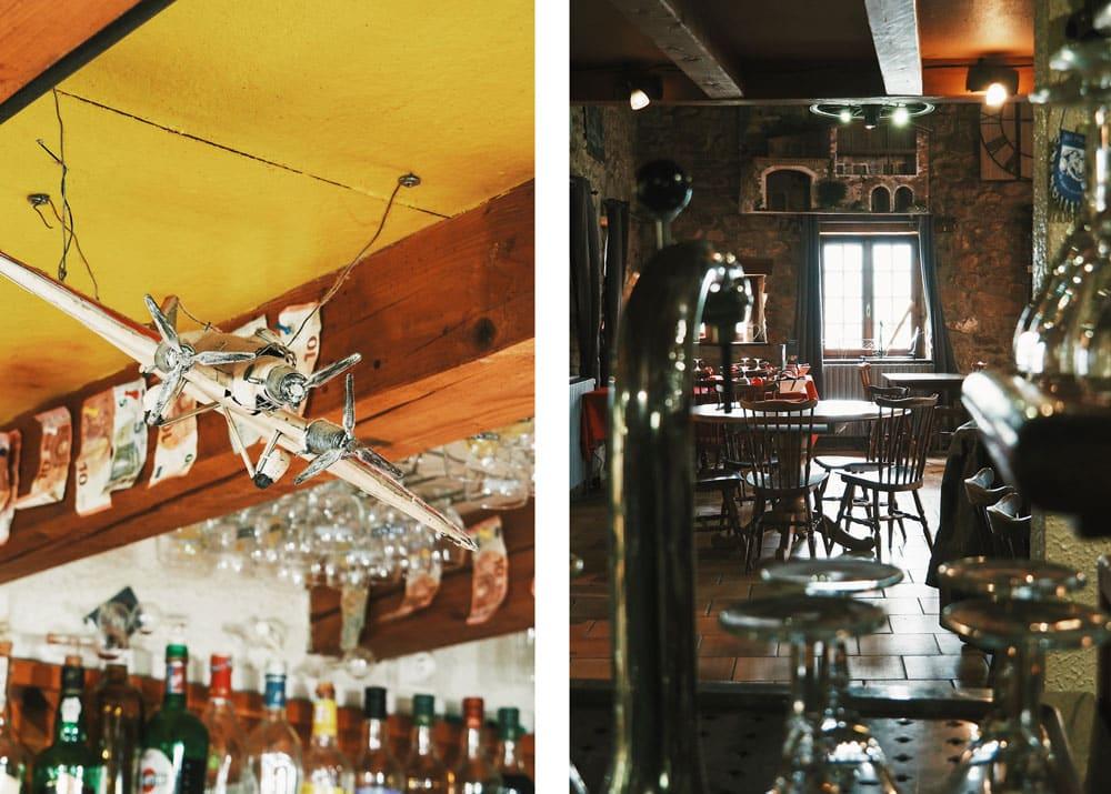 Auberge La Croix de St Sabin restaurant au Pilat