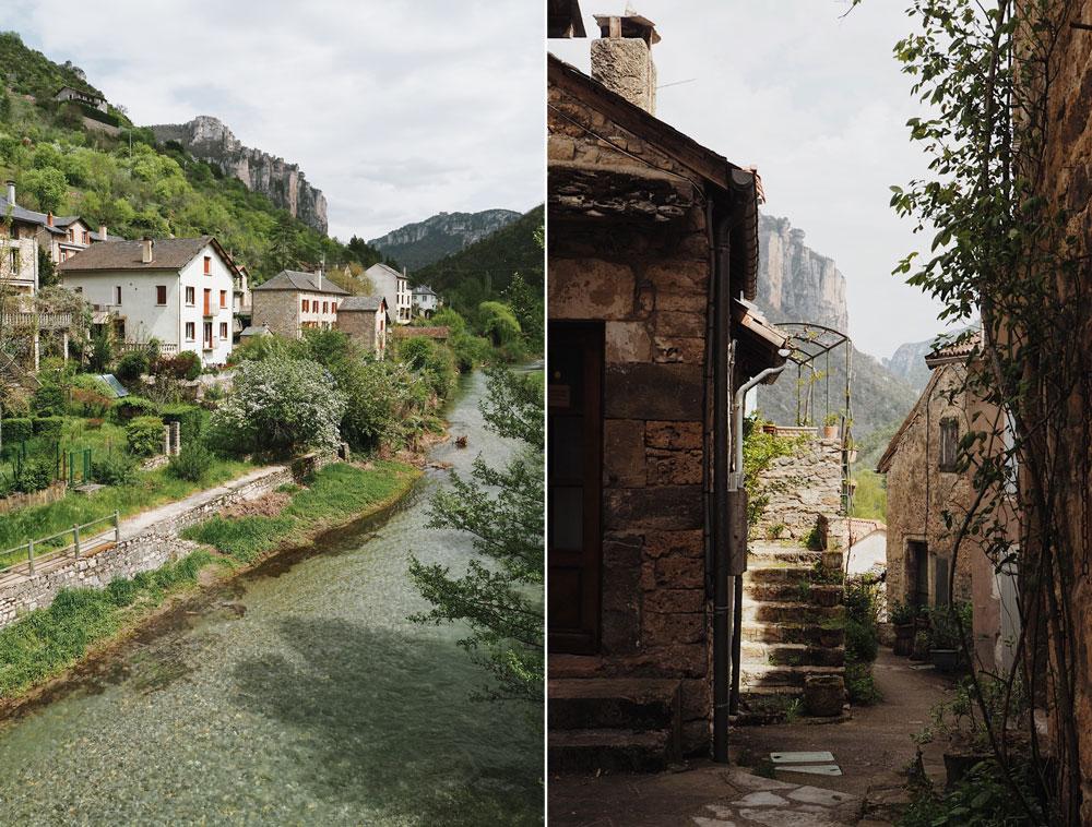 Charmant village près de Millau itinéraire sur 1 jour