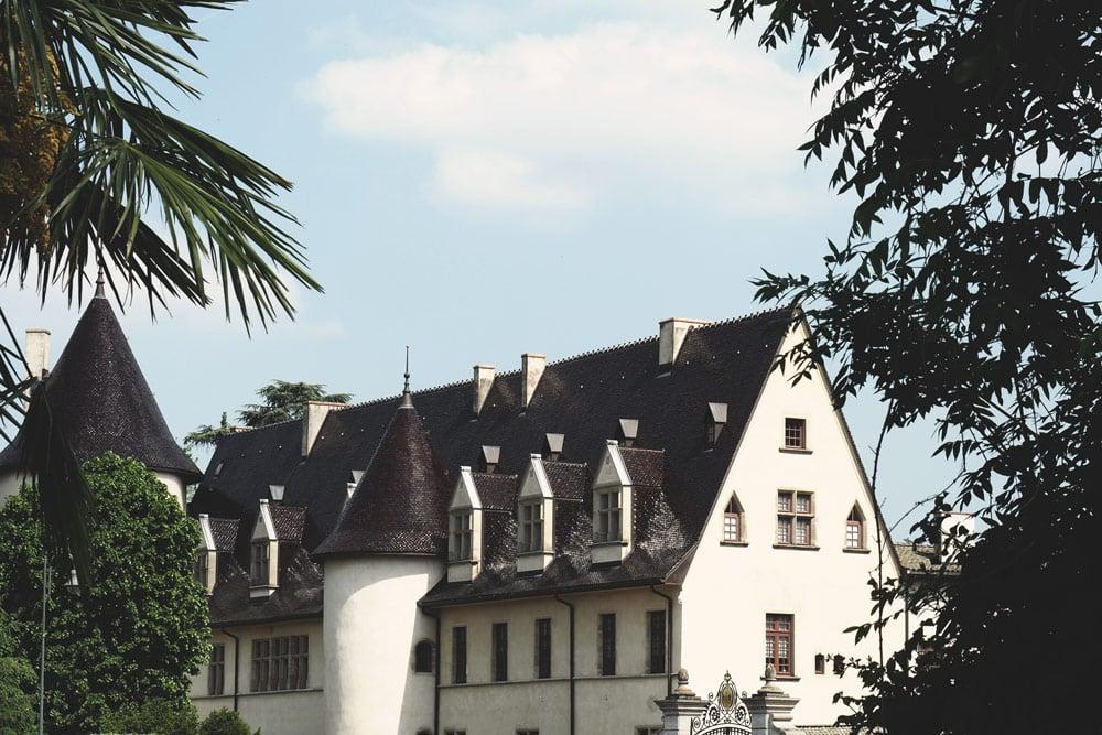Château Ampuis vélo Via Rhôna
