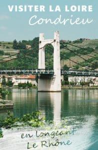 Condrieu en famille vacances dans la Loire