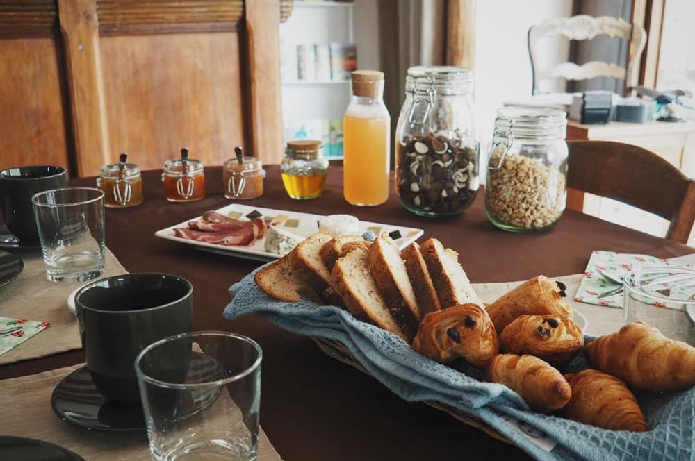 Dormir à Malleval Pilat Rhodanien auberge avec petit déjeuner
