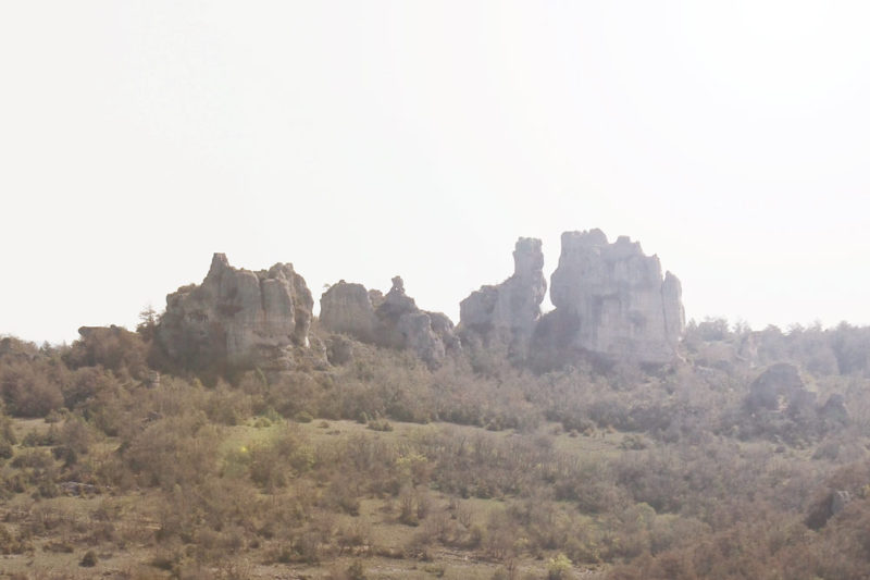 Montpellier le Vieux film de la Grande Vadrouille