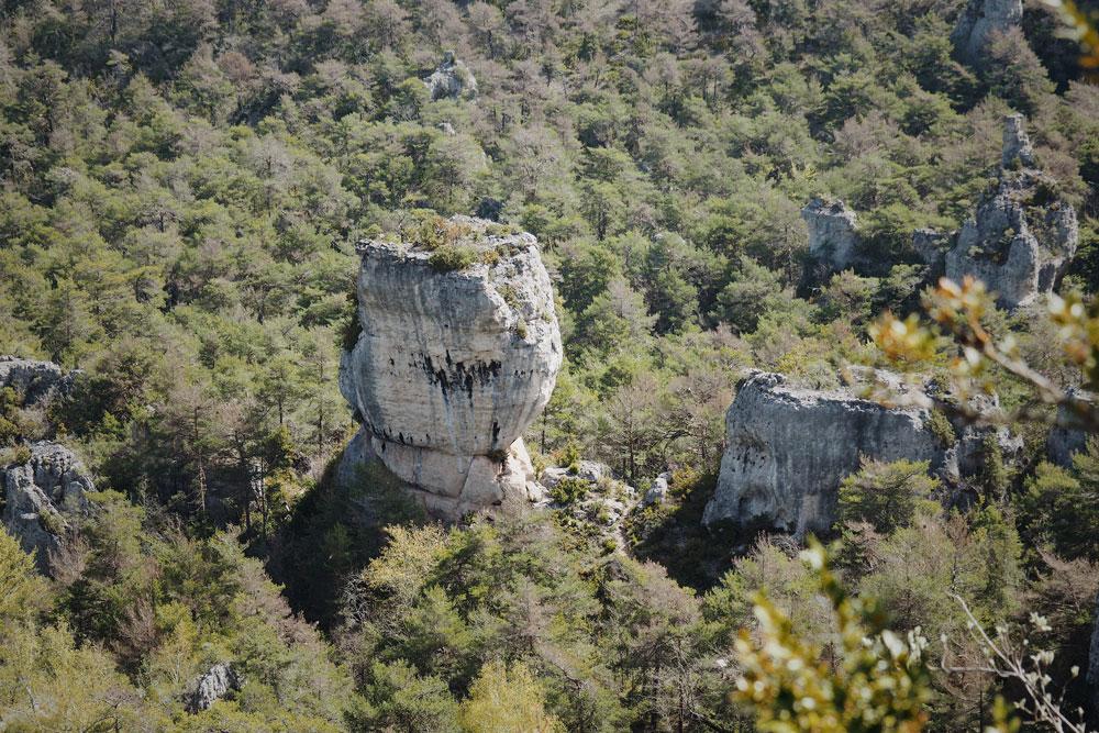 Où se trouve le Chaos Montpellier-le-Vieux ?