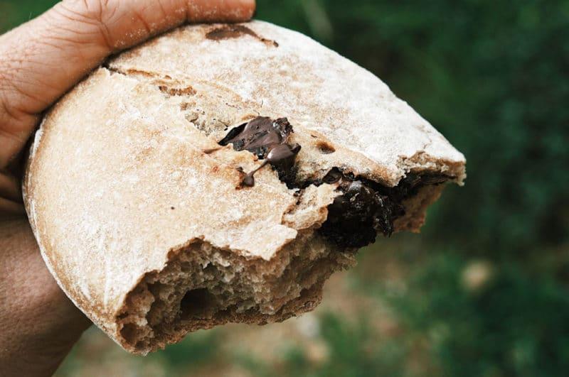 pain au chocolat de Véranne Pilat boulanger bio