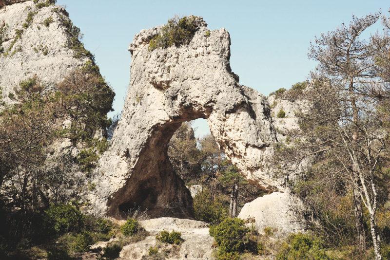 La Porte des Mycènes parc de loisirs du Causse Noir
