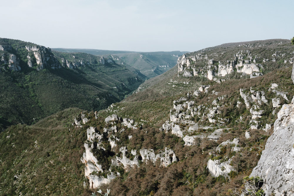 randonnée Chaos Montpellier le Vieux Aveyron
