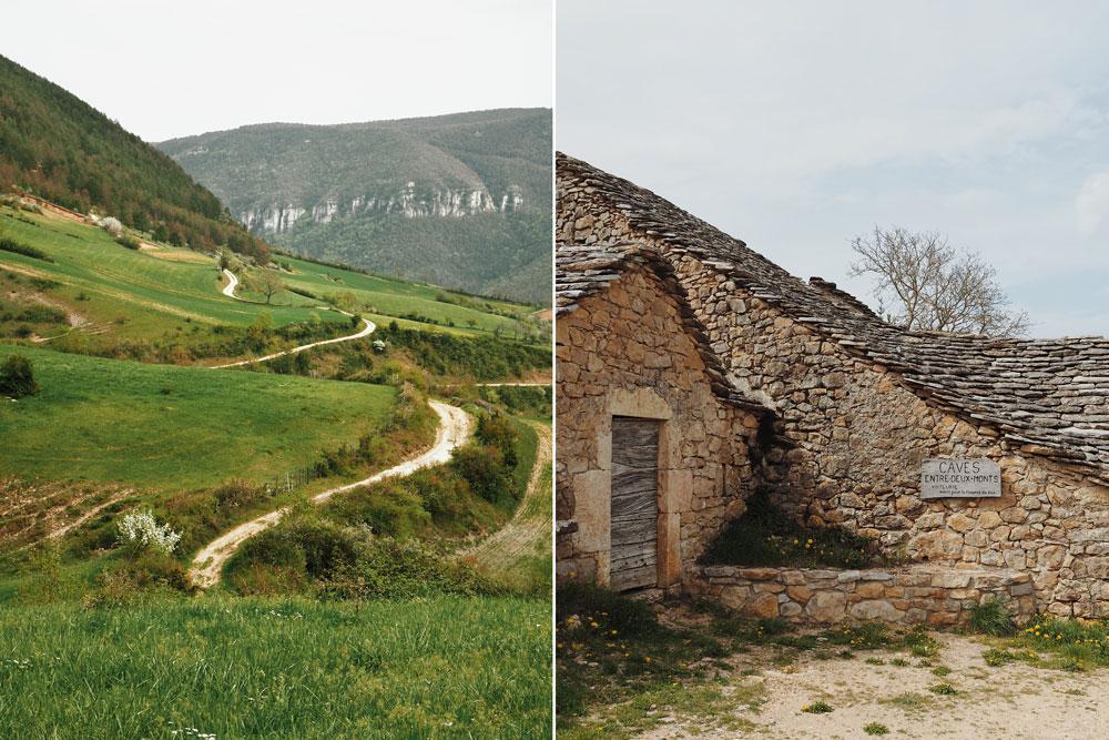Visiter anciennes caves vin entre deux monts