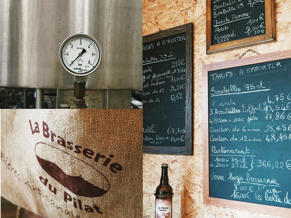 Visiter la brasserie du Pilat de St-Julien-Molin-Molette