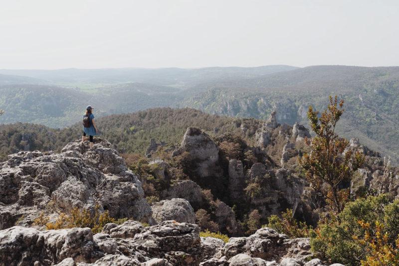 Visiter Causse Noir parc naturel à pied