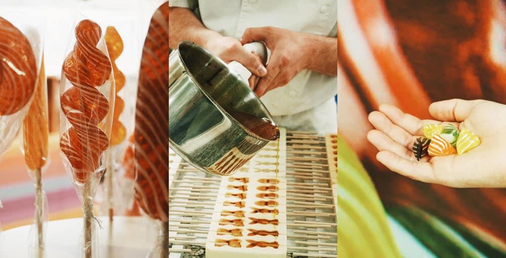 visiter la fabrique de bonbons Julien Pilat Loire