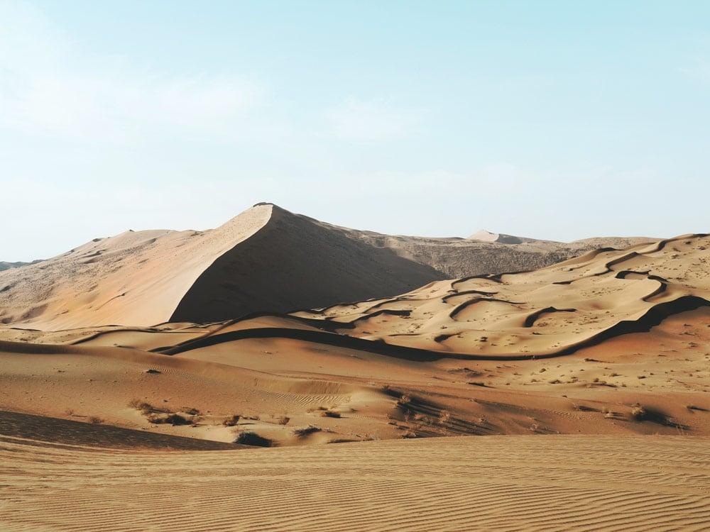 aller dans le désert Badain Jaran Zhangye