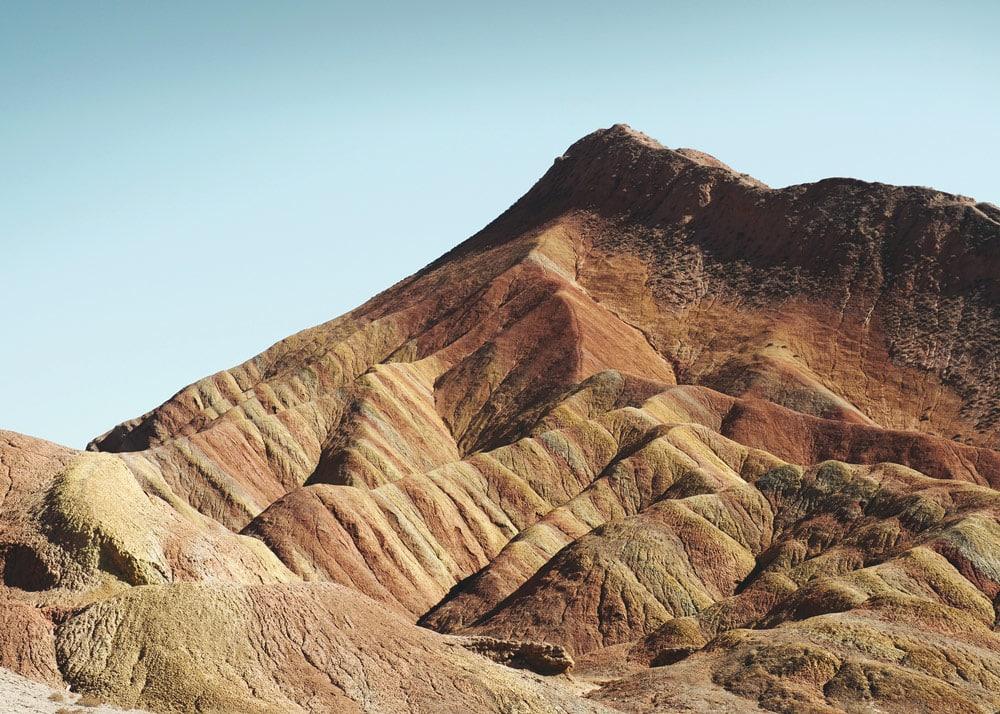 Montagnes arc-en-ciel de Danxia Zhangye