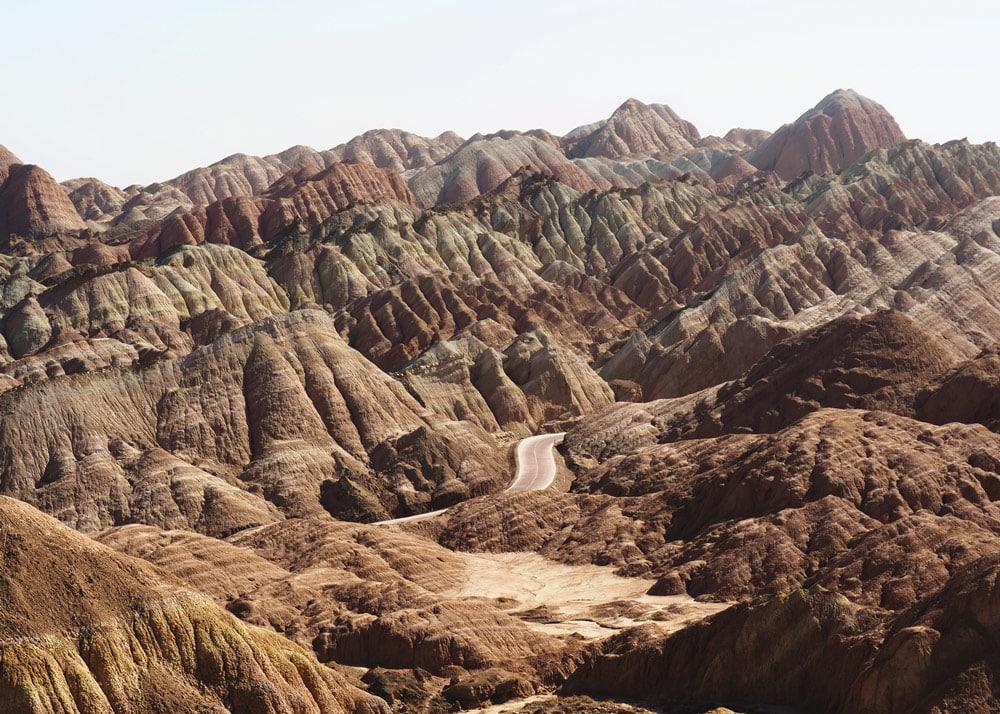Visiter Danxia parc géologique Zhangye