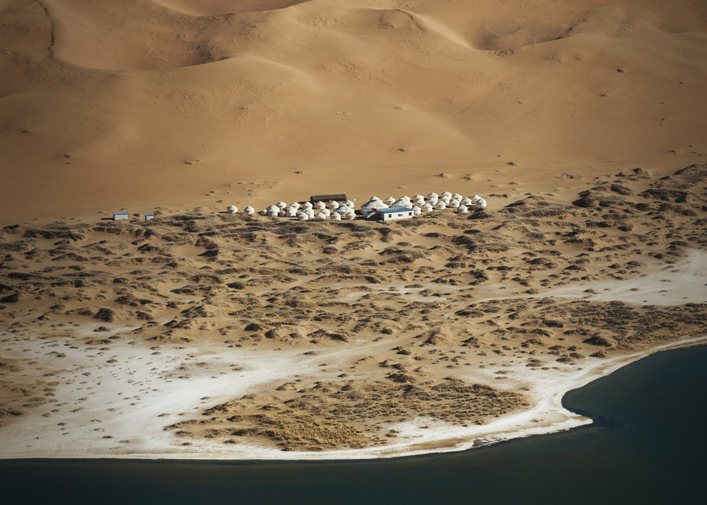 Voyage désert Badain Jaran Zhangye Chine