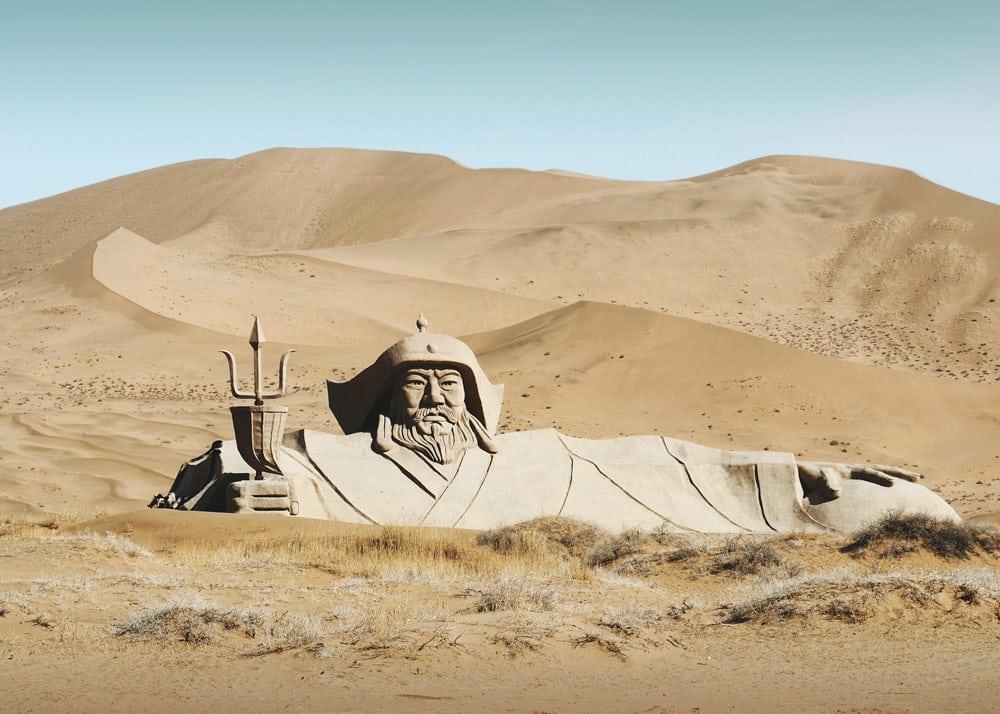 Voyage Zhangye Badain Jaran desert