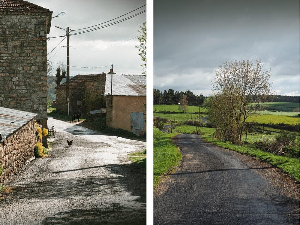 Beaux paysages campagne Auvergne Venteuges Saugues