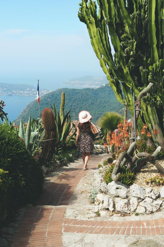 Visite jardin exotique Èze dans le Sud de la France • Le blog Cash ...