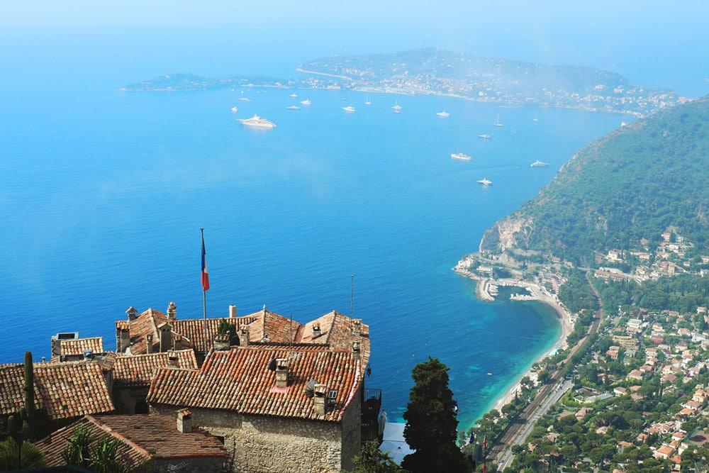 où se trouve jardin suspendu le jardin exotique Èze French Riviera