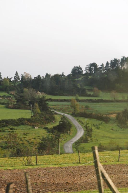 paysages autour du Puy-en-Velay Auvergne