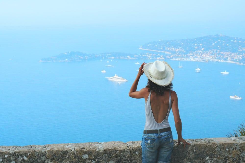 plus beau panorama Côte d'Azur jardin exotique Èze
