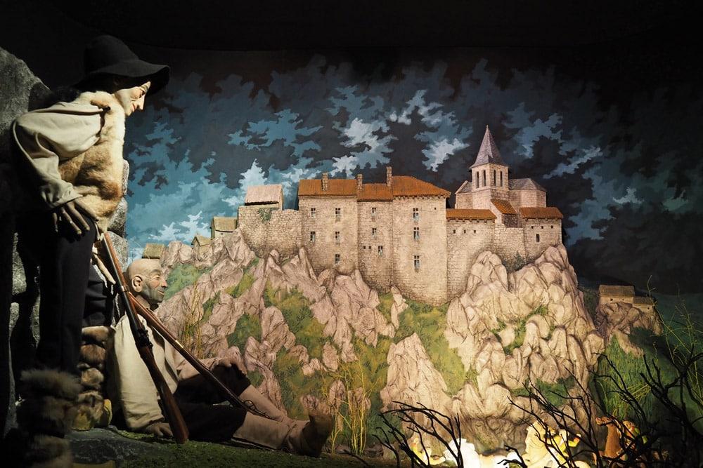 visiter musée bête du Gévaudan Puy en Velay