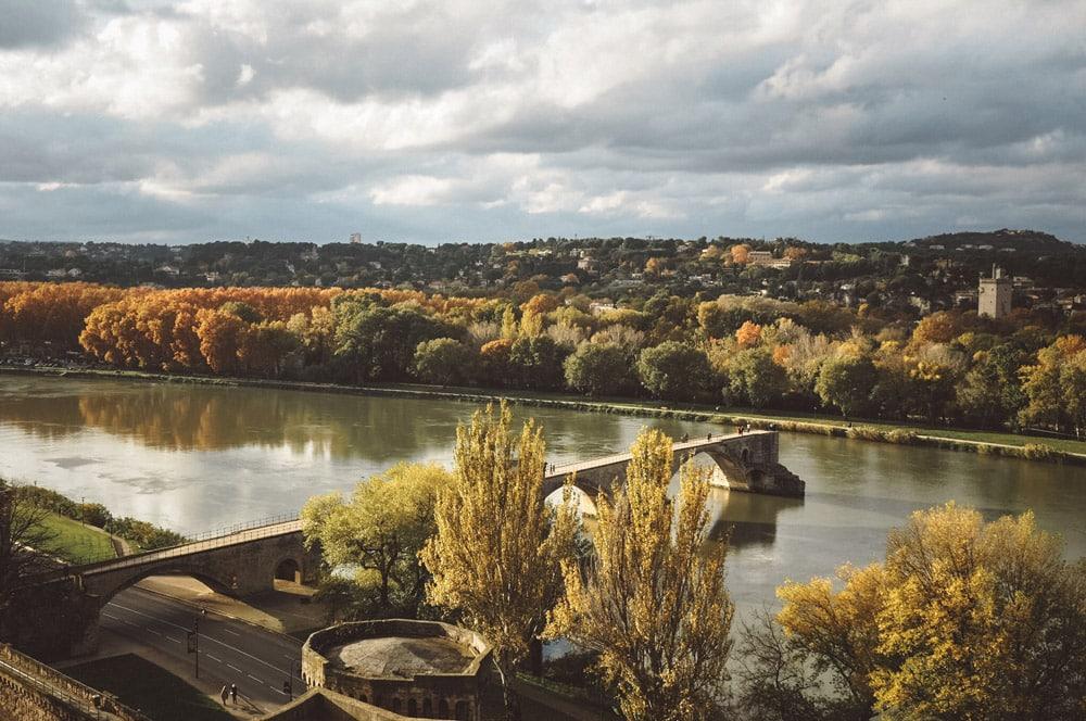 Avignon en automne week end avec enfants Vaucluse