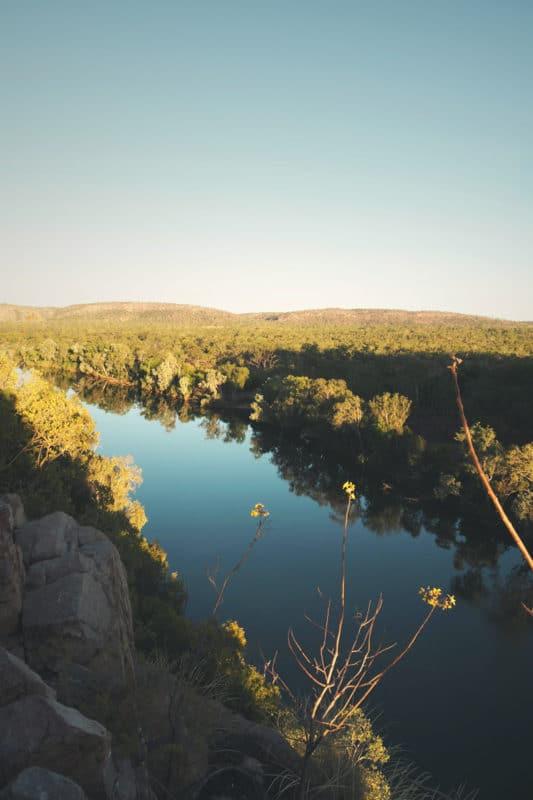 Bateau dans les Gorges Katherine Nitmilik - Australie