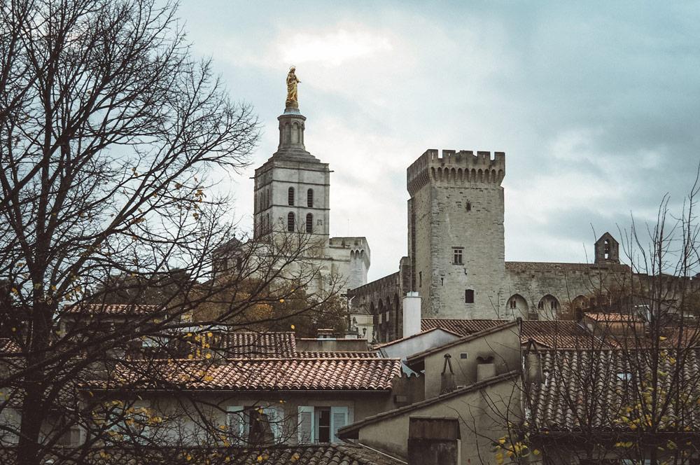 Chambre d'hôtes avec vue sur le Palais des Papes Avignon