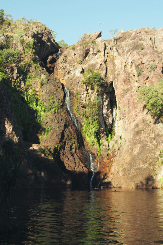 Incontournable en Australie cascade Wangi Falls à Litchfield
