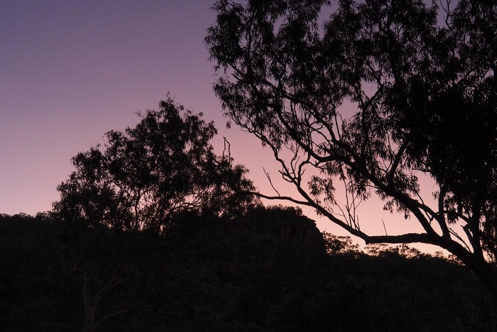 Parc Naturel Kakadu nuit au camping en 4x4 tente