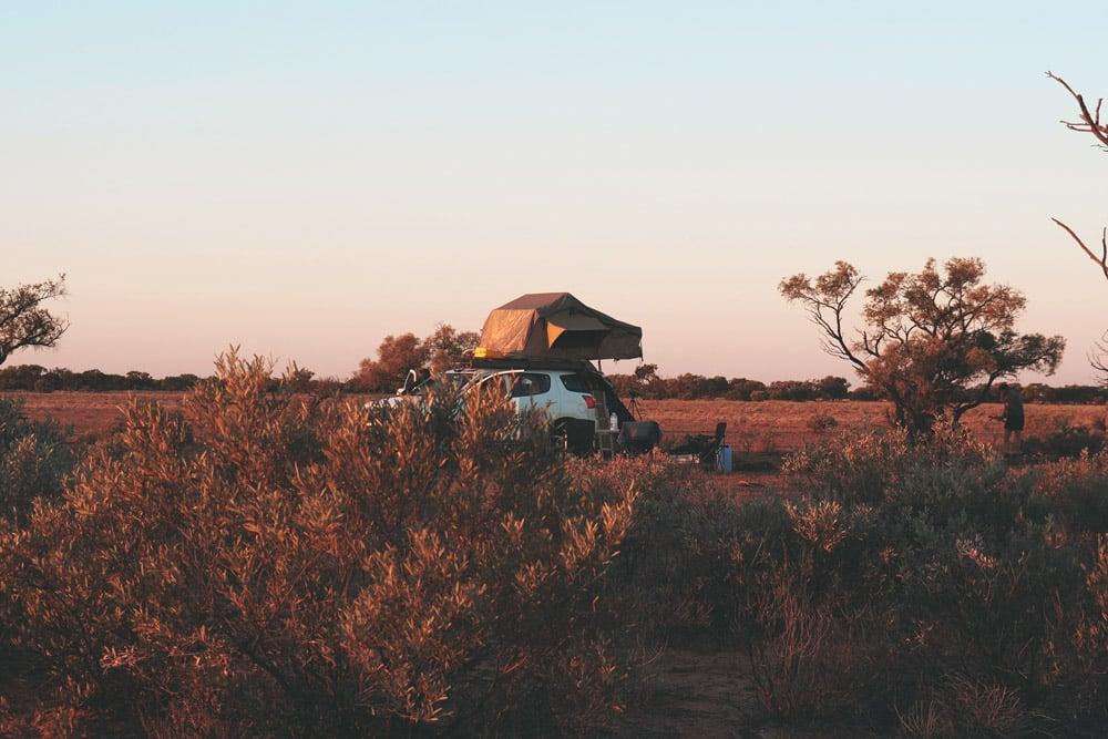 road trip australie 4x4 aménagé