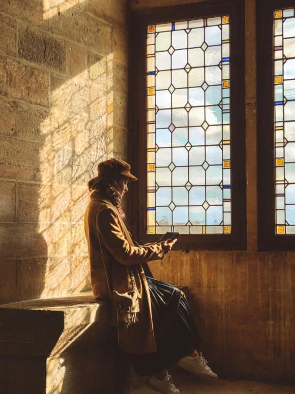 visite Palais des Papes avec tablette Histopad réalité augmentée