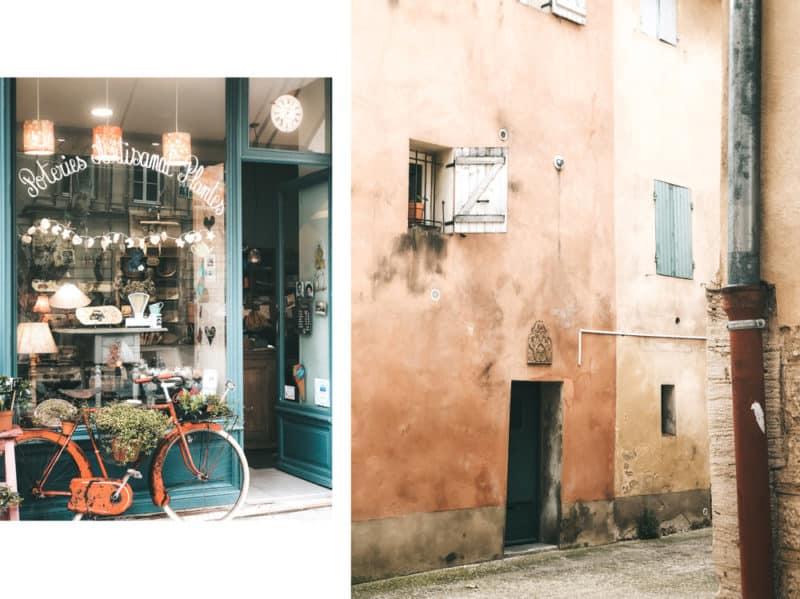 visiter centre ville Carpentras week end Vaucluse