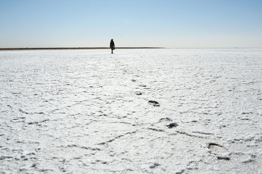 Voir le Lac Eyre en Australie sur piste Oodnadatta