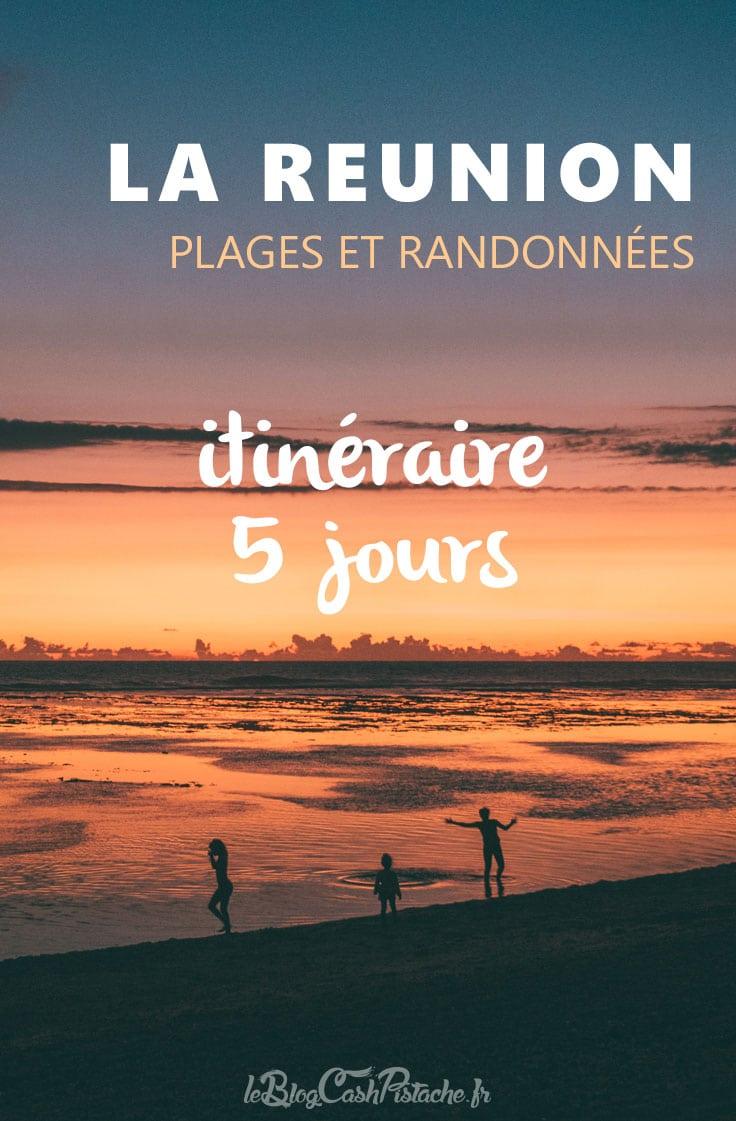 plages et randonnées île de La Réunion en 5 jours
