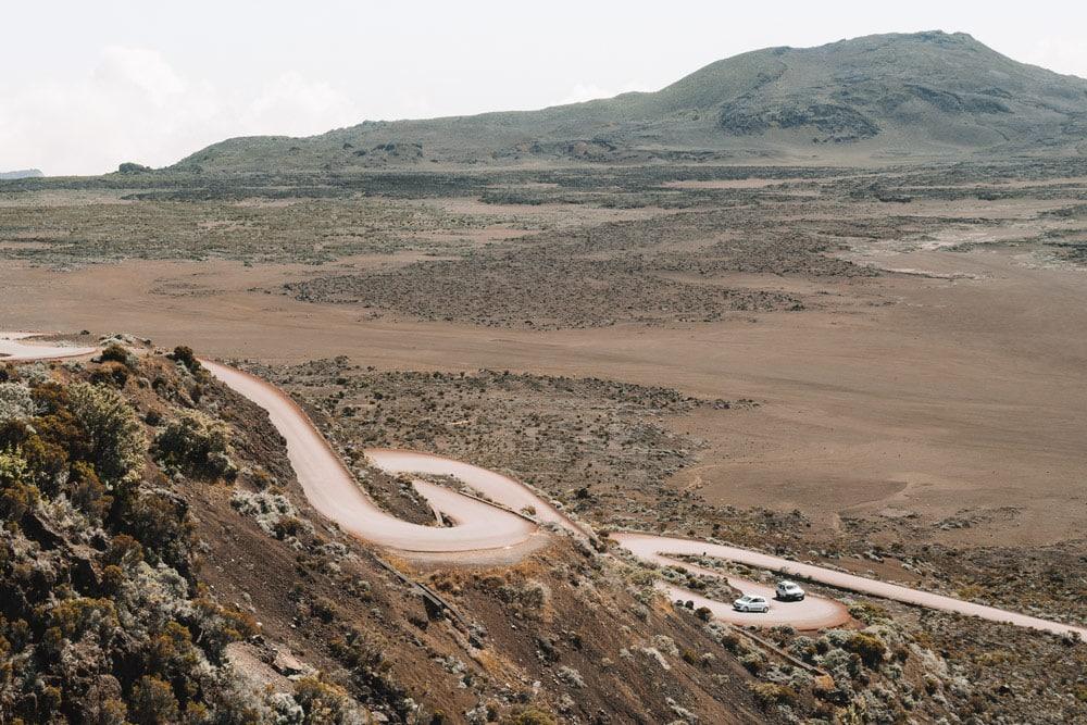 route du Volcan Piton de la Fournaise