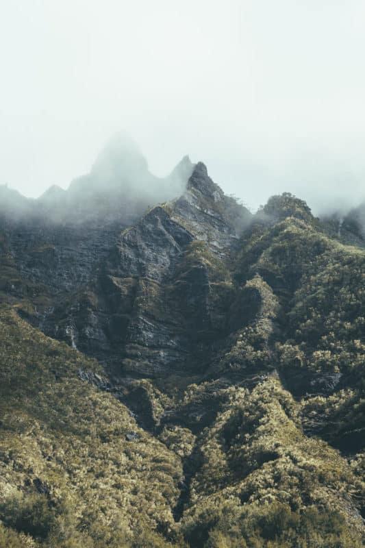 sommets île de La Réunion randonnée