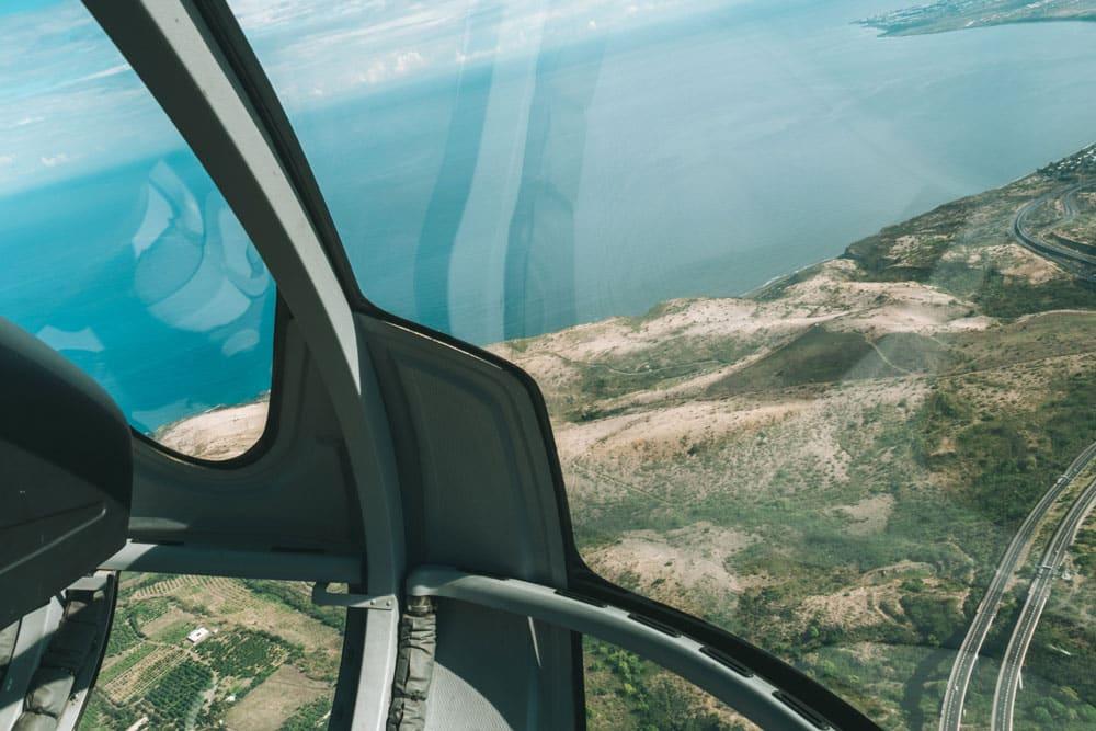 vol en hélico à La Réunion quel organisme ?