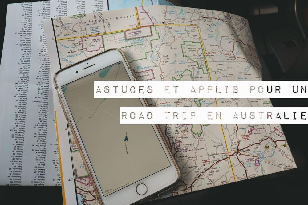 astuces et applications pour road trip australie