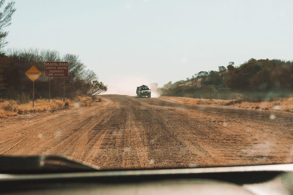 conseils conduite 4x4 sur pistes australie