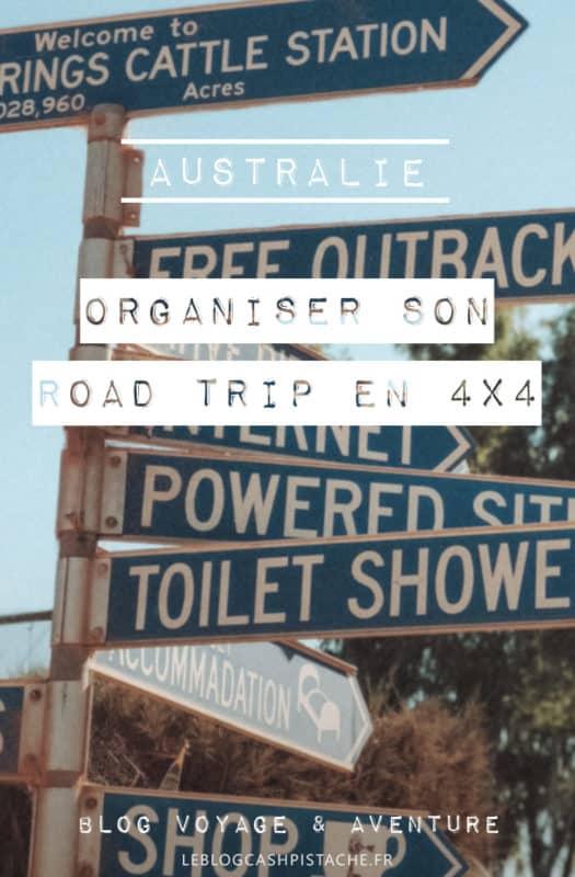 conseils équipement road trip australie