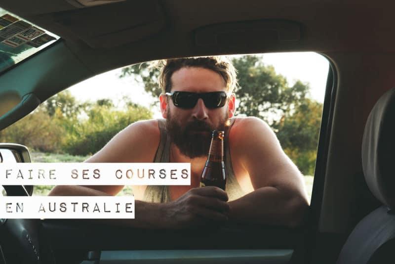 faire ses courses en Australie road trip