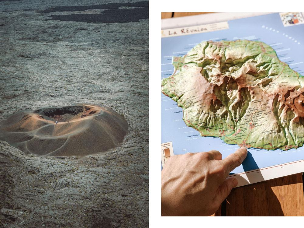 faire une randonnée au Piton de la Fournaise Réunion