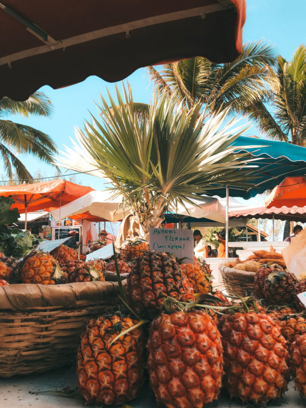 plus beau marché de la Réunion Saint-Pierre