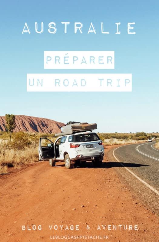 préparer road trip en Australie sur les routes