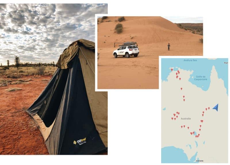 préparer road trip Northern Territory Australie