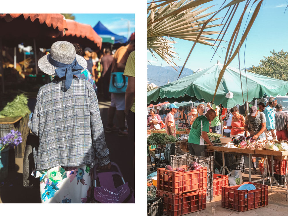 que voir au sud Réunion grand marché St Pierre