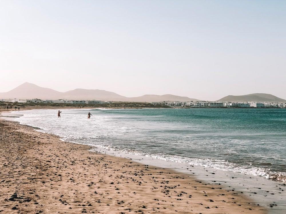 plus belle plage pour se baigner à Lanzarote