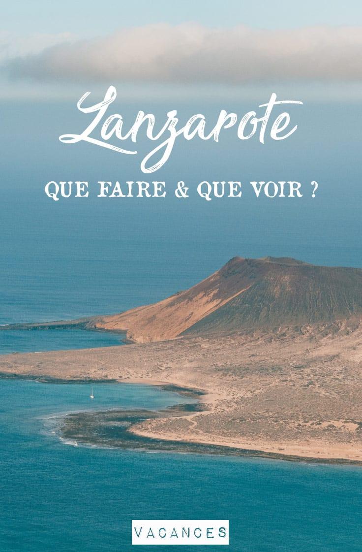 préparer son voyage à Lanzarote iles Canaries